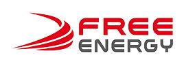 creation logo reunion pour Free Energy réalisé par le Studio Oxygène agence de pub graphiste à la Réunion