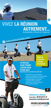 creation flyer reunion pour Mobilboard réalisé par le Studio Oxygène agence de pub à la Réunion