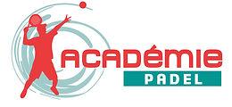 creation logo reunion pour Academie Padel tennis réalisé par le Studio Oxygène agence de pub à la Réunion