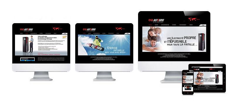 creation site web reunion pour Autogrid réalisé par le Studio Oxygène agence de pub à la Réunion