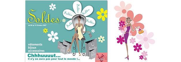 creation annonce presse reunion pour Chez Elles réalisée par le Studio Oxygène agence de pub à la Réunion