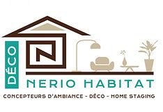 creation logo reunion pour Nerio Habitat Déco réalisé par le Studio Oxygène agence de pub graphiste à la Réunion