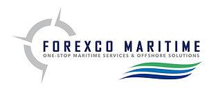 creation logo reunion pour Forexco Maritime réalisé par le Studio Oxygène agence de pub graphiste graphiste à la Réunion