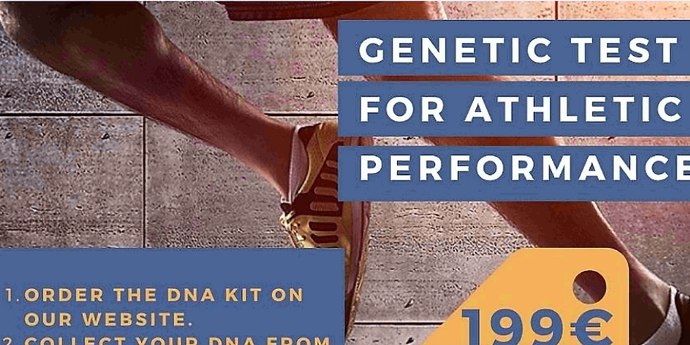 Genetic Test for Athletic Performance (we sell to all over the world)