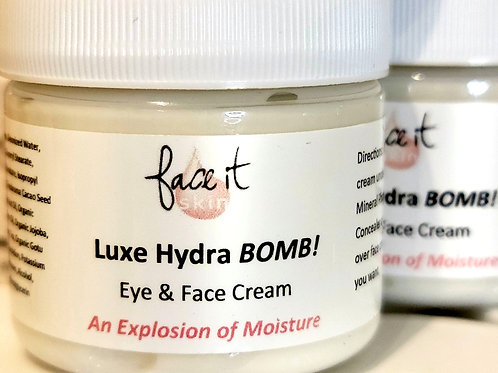 Luxe Hydra BOMB! Eye & Face Cream