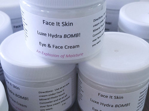 Luxe Hydra BOMB! Eye & Face Cream