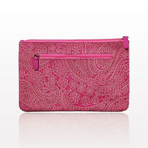 Pretty In Pink Makeup Clutch