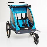 Fietskar+en+kinderwagen+voor+multisport+