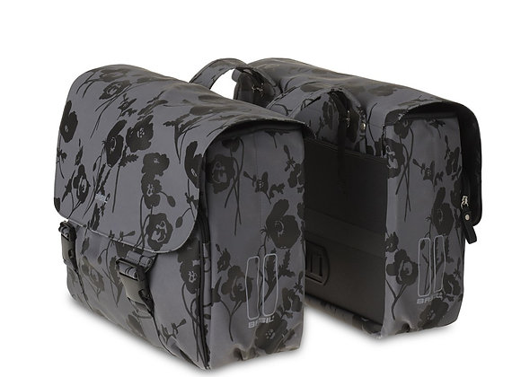 BASIL ELEGANCE TORBA DOUBLE BAG, 32L, moonstone grey
