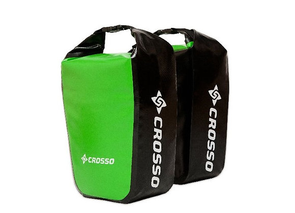 Sakwy rowerowe Crosso DRY SMALL 30l Adventure - Click system