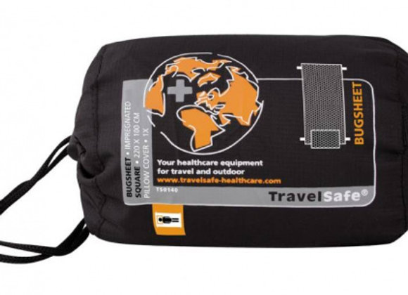 Prześcieradło turystyczne z 1 poszewką na poduszkę Bug Sheet - TravelSafe
