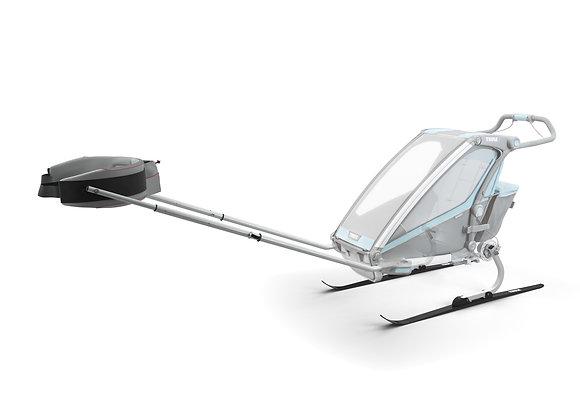 THULE Chariot - Zestaw do uprawiania narciarstwa biegowego i pieszych wędrówek,