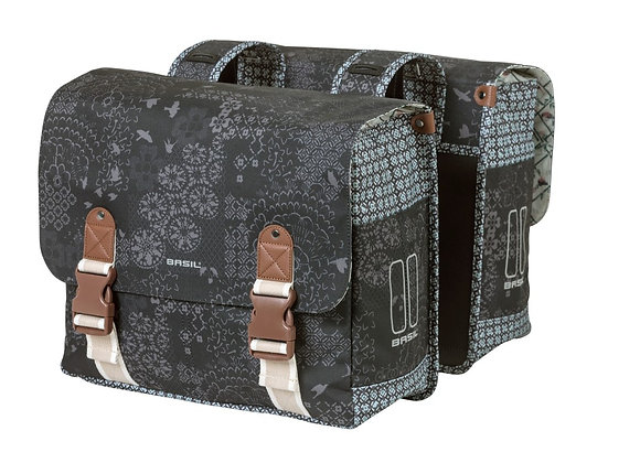 BASIL WANDERLUST TORBA DOUBLE BAG, 35L, charcoal