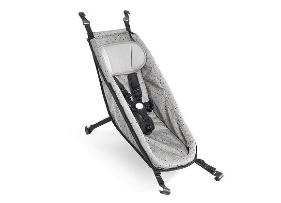 CROOZER-a hamak Baby Seat Stone gr/rd