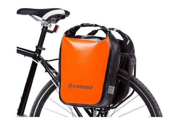 Sakwy rowerowe zestaw na tył / przód Crosso DRY SMALL 30l
