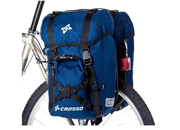 Sakwy rowerowe zestaw na tył / przód Crosso EXPERT SMALL 40l