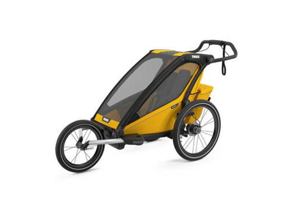 THULE Chariot Sport 1 - Spectra Yellow on Black