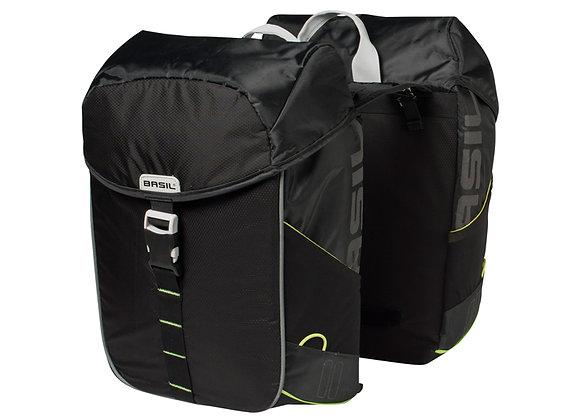 BASIL MILES TORBA DOUBLE BAG, 34L, black lime
