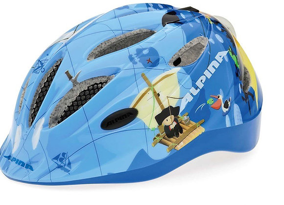 ALPINA KASK GAMMA FLASH 2.0 PIRATE 46-51