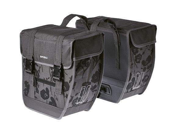 BASIL ELEGANCE TORBA TOUR DOUBLE BAG XL, 40L, moonstone grey