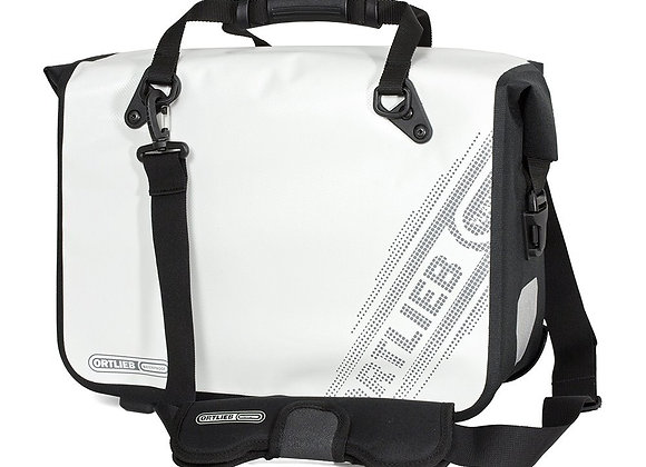 ORTLIEB TORBA MIEJSKA OFFICE-BAG QL3.1 L BLACK'N WHITE LINE, WHITE 21L