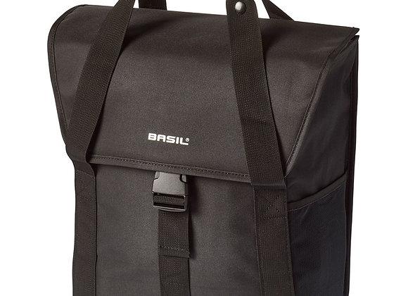 BASIL TORBA GO SINGLE BAG, 18L, solid black
