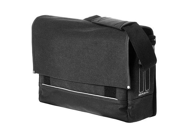 BASIL URBAN FOLD TORBA MESSENGER BAG, 16L/20L, black