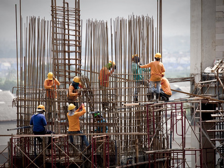 La construcción ya sufre el nuevo precio de dólar, el achique de la obra pública y el derrumbe del c