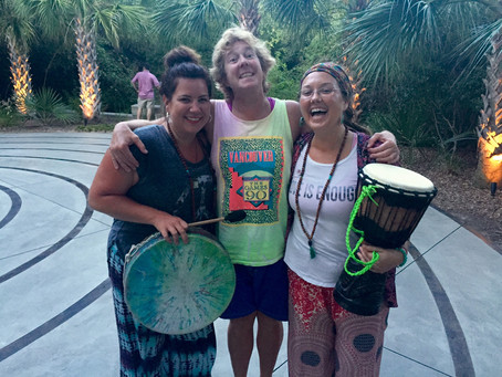 Drum Circles, Thin Spaces, and Labyrinths: Coming Home