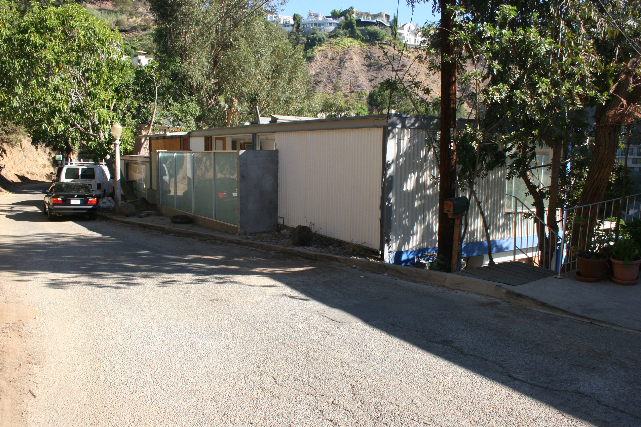 'BOXCAR' HOUSE - Hollywood Hills