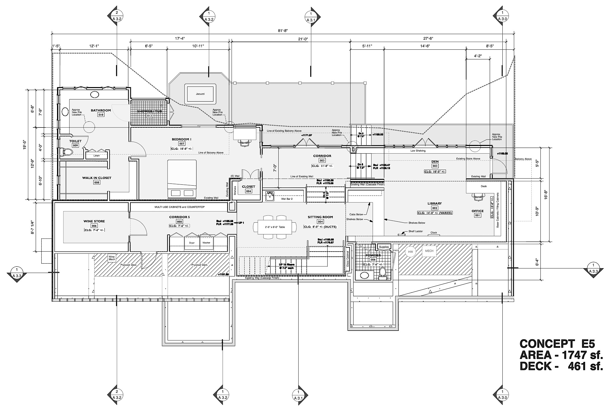 BEL AIR ADDITION (Plan Version E)