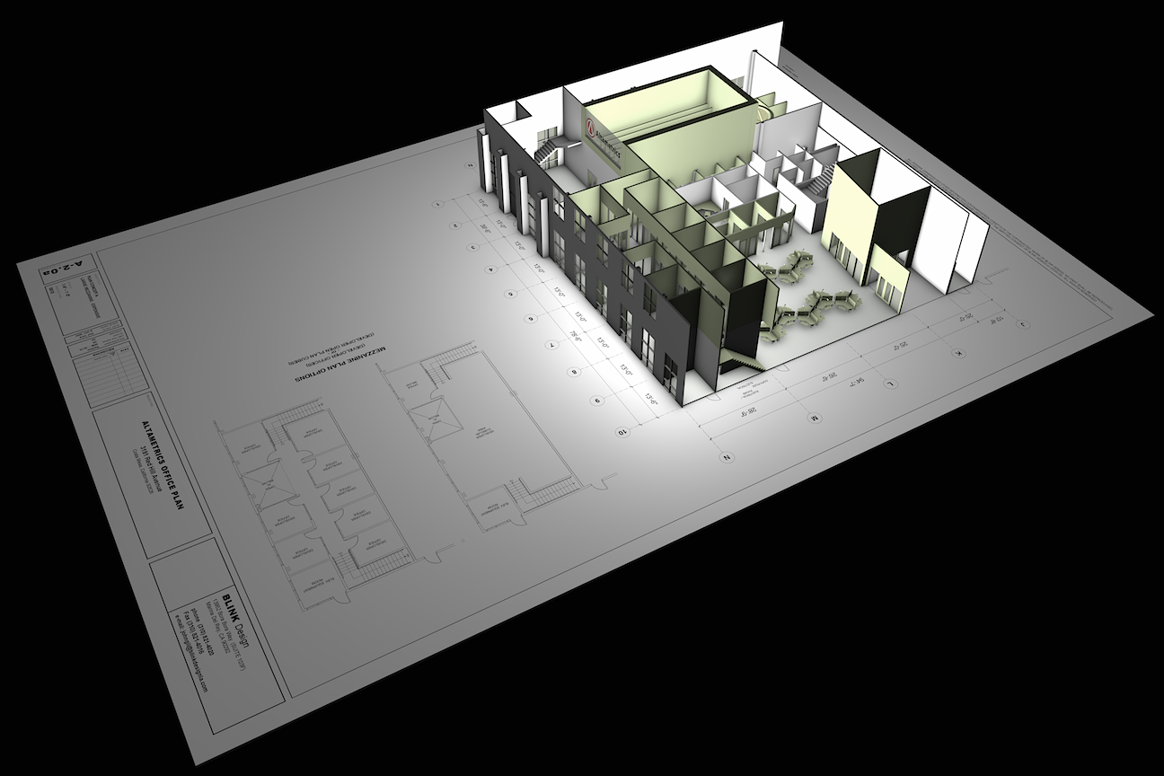 ALTAMETRICS OFFICES (Concept Model)