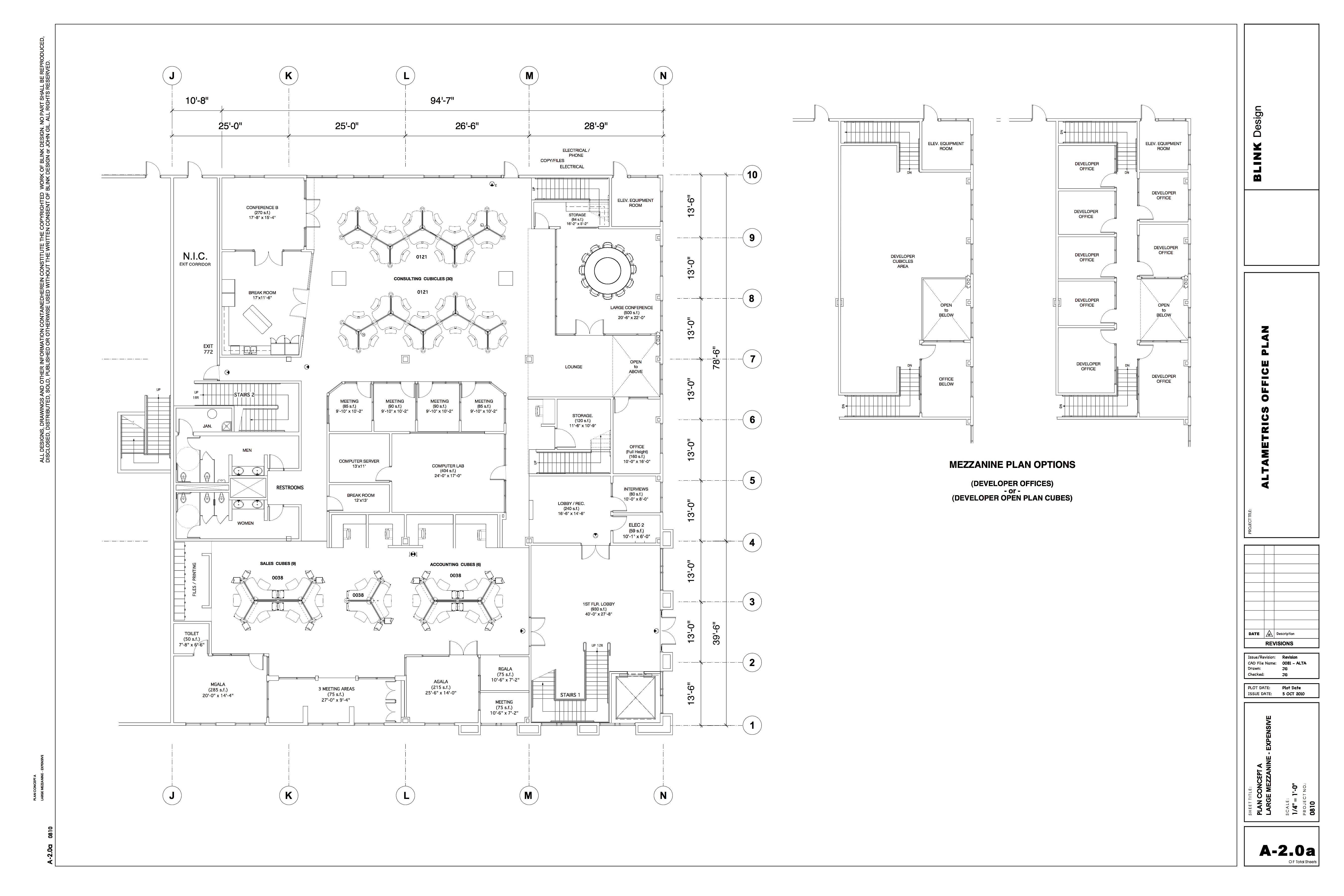 ALTAMETRICS OFFICES (Plan)