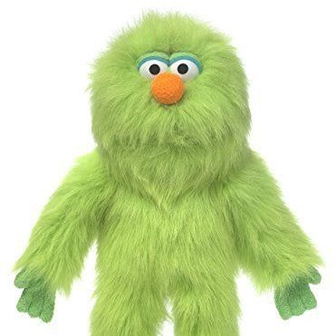 Small Green Monster Puppet