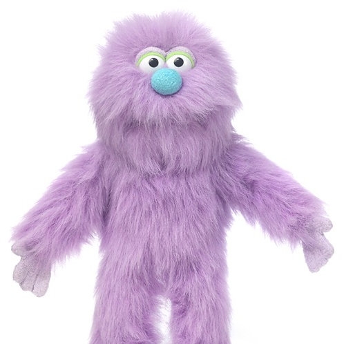Small Purple Monster Puppet
