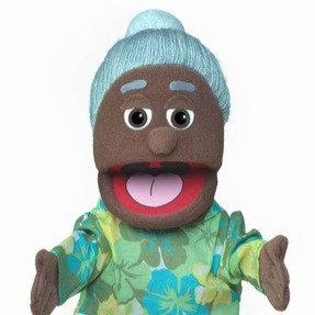 Grandma Puppet - Lou