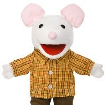Mouse in Sneakers Puppet