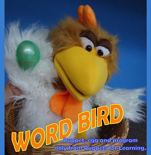 Word Bird Puppet