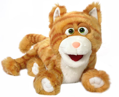 Cat Puppet - Ginger