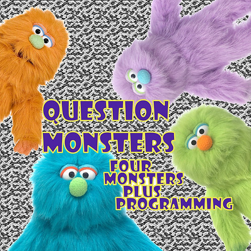 Question Monsters - Four Monster Puppets plus Programming