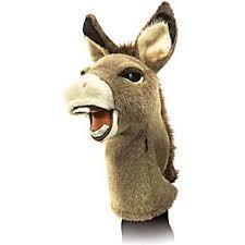 Donkey Puppet - comes with The Wonkey Donkey book & USB