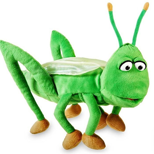 Billy the Grasshopper Puppet  and Syllables Program