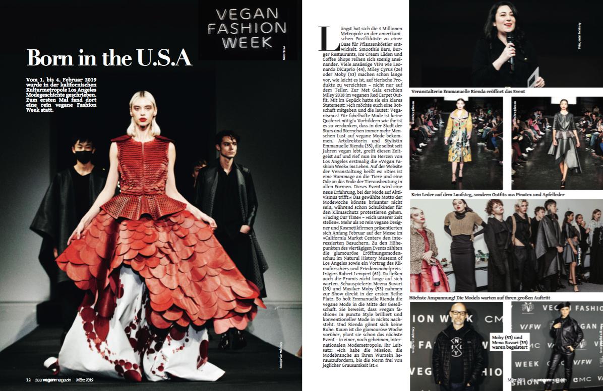 Vegane Fashion Week in LA 2019