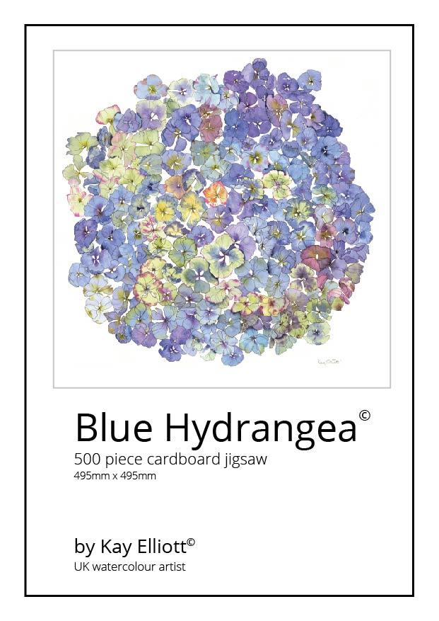Blue Hydrangea Jigsaw