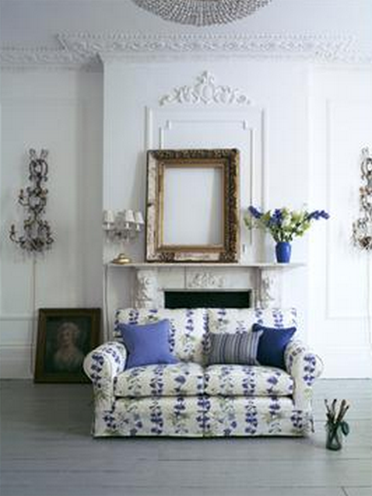 Multi-York sofa in Blue Delphinium