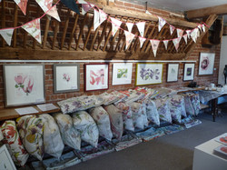 Cushions, Paintings & Bunting!