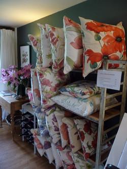 Various cushions