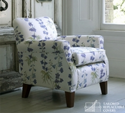 Multi-York chair in Blue Delphinium