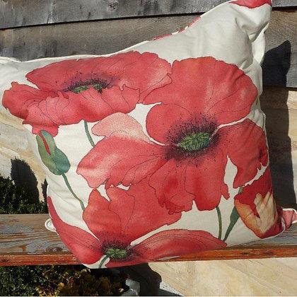Cushion Poppy 13, Paradis Collection