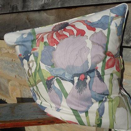 Cushion Iris & Echinacea 43, Paradis Collection